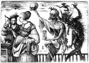 Hopfer-1470--1536 Death&Devilsm