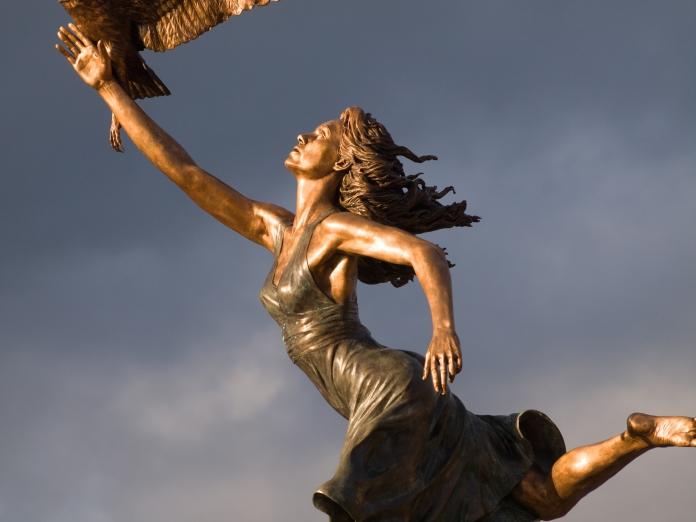 Bicentinnial Minerva Statue